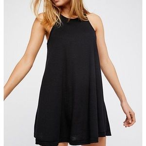 New with tags free people LA nights black dress xs